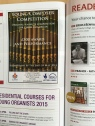 Advertising the Student Composion Competition